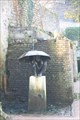 Image for Enfant sous un parapluie, Honfleur, Normandie, France