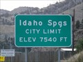 Image for Idaho Springs, CO - Elevation 7540