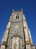 Image for Bell Tower, First Trinity Church, Aberaeron, Ceredigion, Wales, UK