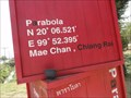 Image for 20° 06.521' N 99° 52.395' E—'Parabola Cafe', Chiang Rai, Thailand.
