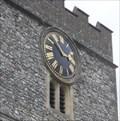 Image for Church Clock, Church of St.Mary, High Street, Streatley, West Berkshire.
