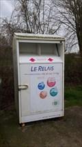 """Image for Box de collecte de vêtements """"Le Relais"""", Serques, France"""