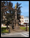 Image for Plague Column with a statue of Virgin Mary -Prostejov, Czech Republic
