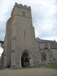 ...the church from the south-west.