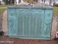 Image for World War Memorial on Foxborough Town Common - Foxborough, MA