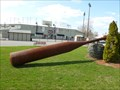 Image for Large Steel Baseball Bat and Glove of Shrubs - Pittsfield, MA