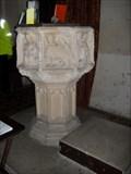 Image for Font - St.Botolph's Church, B1079, Burgh, Suffolk. IP13 6QA