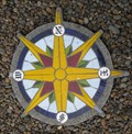 Image for Heceta Head Light Keepers' House Compass Rose - Lane County, Oregon