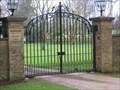Image for Preston Deanery Hall Gates - Preston Deanery, Northamptonshire, UK