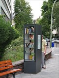 Image for Offener Bücherschrank Westend (Odina-Bott-Platz) — Frankfurt am Main, Germany