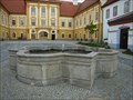 Image for Fontána na nádvorí - Borovany, okres Ceské Budejovice, CZ