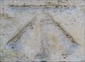 Image for Cut Bench Mark - Hampton Court Bridge, London, UK