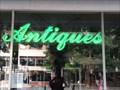 Image for Antiques - Neon Sign - Wichita Falls, TX