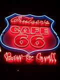 Image for Cruiser's Route 66 Cafe - Neon - Williams, Arizona, USA.