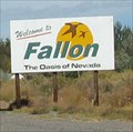 "Image for Welcome to Fallon - ""The Oasis of Nevada"""