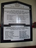 Image for Combined War Memorial - Church of St Mary, Church Lane, Graveley, Hertfordshire. SG4 7LY