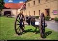 Image for Canon de 8 Gribeauval / Osmiliberní delo systému Gribeauval - Chateau Roztoky u Prahy (Central Bohemia)
