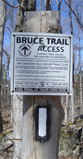 Image for Bruce Trail access point, Caledon Mountain Drive, Belfountain