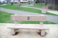Image for James K. Vick Bench - Prescott Wi.