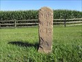 Image for Lincoln Highway Historic Mile Marker Monument (P 102 - Y 16 - G 12) - Abbottstown, PA