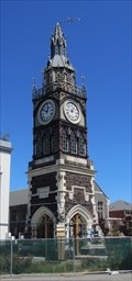 Image for Victoria Clock Tower, Christchurch, New Zealand