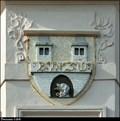 Image for Coa of Nové Dvory on Town Hall / Znak Nových Dvoru na radnici - Nové Dvory  (Central Bohemia)