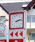 Image for Town Clock Poststraße Mendig, Rhineland-Palatinate, Germany
