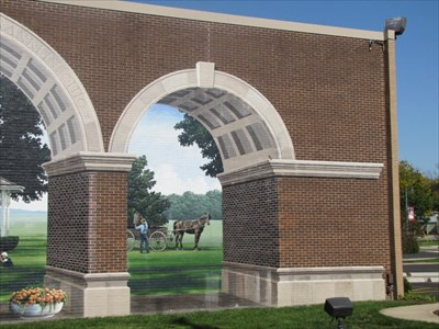 Right Arch, Huntington Bank, Franklin, OH