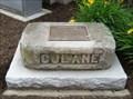 Image for Carriage Stone of Cornelius J. Lane - Bradford, PA