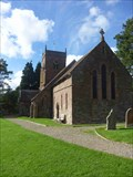 Image for Churchyard, All Saints Church, Shelsley Beauchamp, Worcestershire, England