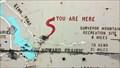 Image for Howard Prairie-Hyatt Lake You Are Here Map - Jackson County, OR