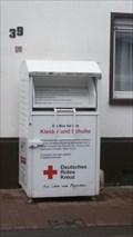Image for Kleidercontainer des Roten Kreuzes - Bad Breisig - RLP - Germany