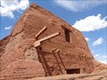 Image for Pueblo Mission Church - Pecos, Santa Fe County, New Mexico, USA.
