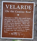 Image for Velarde ~ On the Camino Real