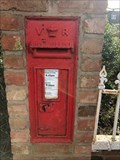 Image for Victorian Wall Post Box - Woolscott, near Rugby, Warwickshire, UK