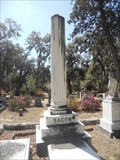 Image for De Witt Clinton Bacon - Bonaventure Cemetery - Savannah, GA