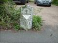 Image for King Hill Milestone, West Malling, Kent. UK