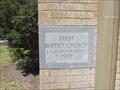 Image for 1947 - First Baptist Church - Eden, TX