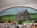 Image for Log Cabin Mural - Pioneer Art Settlement