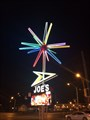 Image for Joe's Wines & Liquor -  Iconic Rotating Neon-Spiked Star - Memphis, TN