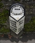 Image for A65 Church Street Milestone – Ilkley, UK