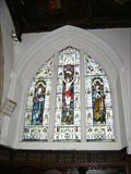 Image for Crucifixon Window - North Wall - St Leonard's Church, Old Warden, Bedfordshire, UK