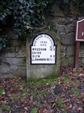 Image for Castle Road Milestone, Chirk, Wrexham, Wales