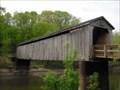 Image for NARROWEST Covered Bridge in Illinois.  Thompson Mill Bridge