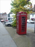 Image for Red Telephone Box - High Street Cleobury Mortimer, Shropshire, England