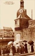 Image for La tour horloge de Concarneau - FRANCE