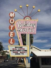 Full Holiday Motel Sign, Las Vegas, Nevada