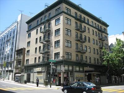 205 Jones Apartments Uptown Tenderloin Historic District San Francisco Ca Nrhp Districts Contributing Buildings On Waymarking