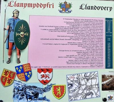 Llandovery - Timeline