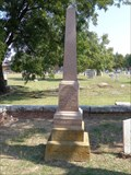 Image for John Richardson - I.O.O.F. Cemetery - Denton, TX